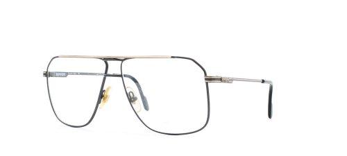 Ferrari 24 503 Black Certified Vintage Aviator Eyeglasses Frame For - Ferrari Glasses