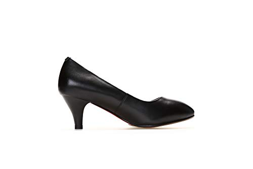 Compensées Sandales 5 SDC06073 Noir Noir EU Femme AdeeSu 36 O6TEwxE