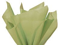 "Bulk SAGE GREEN Tissue Paper 15"" x 20"" - 50 Sheets"