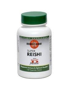 (Reishi Super + D Fraction Mushroom Wisdom (Formerly Maitake Products) 120 VegTab by Mushroom Wisdom (Formerly Maitake Products))