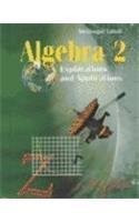 Algebra 2: Explorations and Applications
