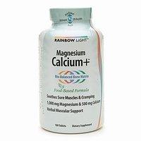 Rainbow Light - Magnesium Calcium +