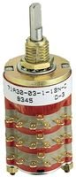 Rotary Switch, 12 Position, 1 Pole, 30 °, 300 mA, 115 V, 71 Series