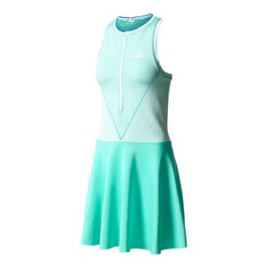 d40cbd32c8b adidas Stella McCartney Women's Barricade Dress Hyper Green/White Dress