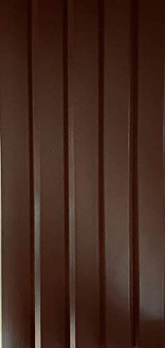 Mobile Home Skirting Dark Brown Box of 8 Panels 16 Wide X 35 Tall. Premium 40 Mil Thickness