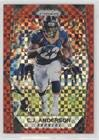C.J. Anderson #/49 (Football Card) 2017 Panini Prizm - [Base] - Red Power Prizm #111