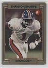 Shannon Sharpe (Football Card) 1990 Action Packed Rookie Update - [Base] #46