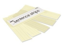 Pacon Corporation Tag Mini Sentence Strips in Manila from Pacon