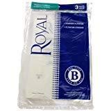 - Royal Metal Upright Type B Vacuum Bags 3 Pack standard filtration