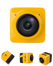 360 x 190 Panoramic Cube Camera Wifi H.264 Video Mini Sports Action Camera