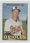 (Ryan Flaherty (Baseball Card) 2016 Topps Heritage - [Base] - Gum Damage Back #407)