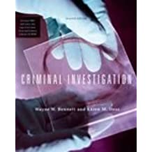 Criminal Investigation With Infotrac: Karen M. Hess (Hardcover, 2003) 7th Edition