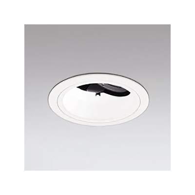 LEDユニバーサルダウンライト M形 深型φ100 JR12V-50W形 高彩色形 ナロー配光 連続調光 オフホワイト 白色 B07RXP5S24