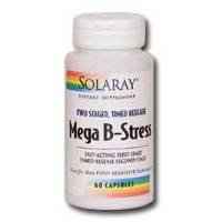 Solaray Two Stage Mega B Stress 240ct product image