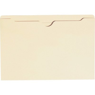 SMEAD 76500 File Jackets with Double-Ply Top, Legal, 11 Point Manila, 100/Box