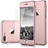 iPhone 7 Plus case, VPR 2 in 1 Ultra Thin Full Body Protection Hard Premium Luxury Cover [Slim Fit] Shock Absorption Skid-proof PC case for Apple iPhone7 Plus (5.7inch) (RoseGold) - Plus 2 Drawer Set