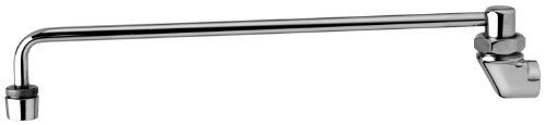 T&S Brass B-0575 Range Faucet, Wall Mount, Aerator, 13-Inch Nozzle, 3/8-Inch Npt Female -