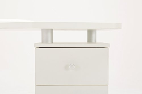 BarberPub White Manicure Nail Table Station Desk Spa Beauty Salon Nail Art Equipment 0411 by Barberpub (Image #8)