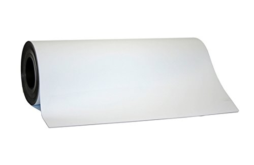 Size 24 x 50 Magnetic Flexible White Vinyl 30 Mil