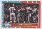 1987 World Series Teams - New York Mets Team (Baseball Card) 1987 Fleer - Factory Set World Series - Glossy #8