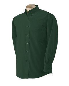 Van Heusen Mens Long-Sleeve Wrinkle-Resistant Oxford - WHITE - S
