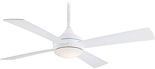 Minka-Aire F523-WHF Aluma Wet 52 Inch Outdoor Ceiling Fan in Flat White Finish