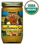 Once Again Organic Lightly Sweetened Sunflower Seed Butter, 16 Ounce -- 12 per case.