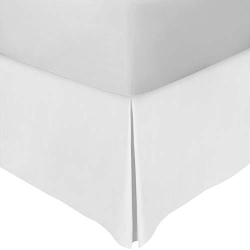 (Utopia Bedding Queen Bed Skirt (White))