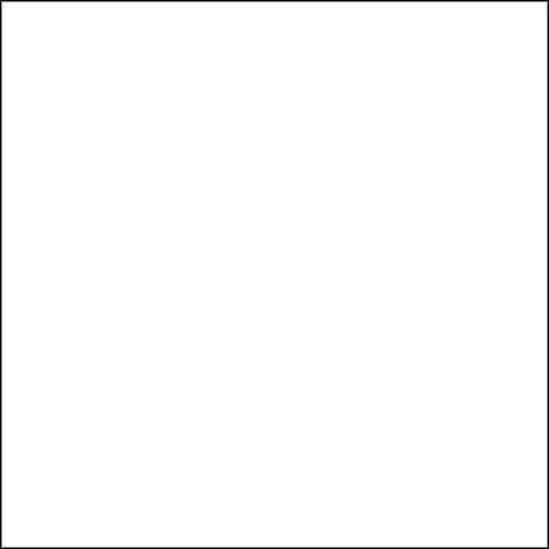 Rosco E-Colour #216 White Diffusion, 48'' x25' Roll