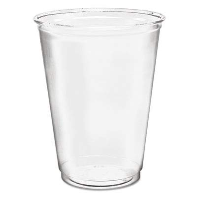 Dart TP22 12 oz Flush-fill Ultra Clear PET Plastic Cup (Case of 1000) ()