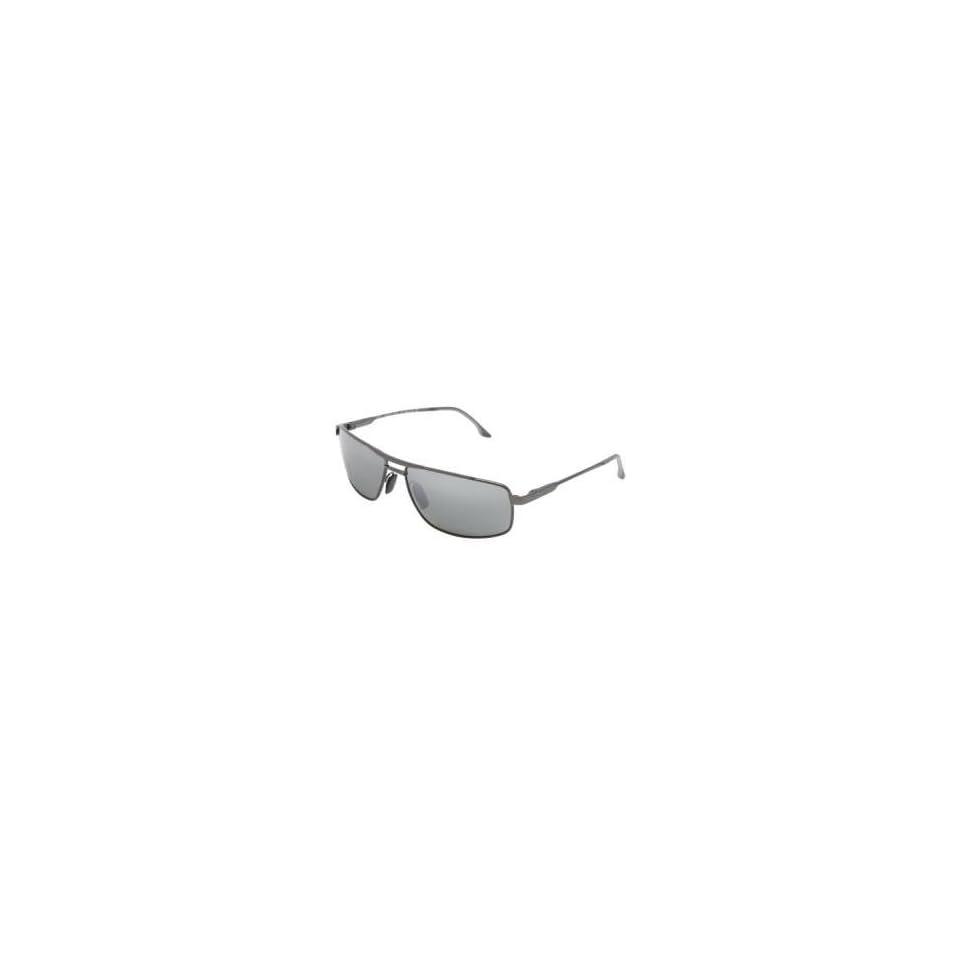 Maui Jim Kapena Sunglasses   Polarized Gunmetal Black/Neutral Gray, One Size