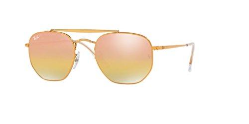 The Ray gold ban Light Sunglasses Bronze Marshal Rb3648 Mirror wOp4qTrEO