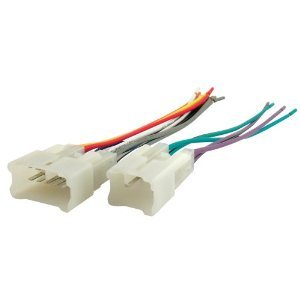 21dfoJ2oOyL amazon com absolute stereo wire harness toyota corolla 03 04 05 Wire Harness Plugs at cita.asia