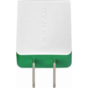 Dynex USB Wall Charger Green DX-MAC1UG