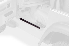 - Bestop 51049-01 Bestop HighRock 4x4 Door Sill Entry Guards Door Trim Sill Plate Insert Cap HighRock 4x4 Door Sill Entry Guards