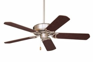 Emerson Ceiling Fans CF755BS Designer 52-Inch Energy Star Ceiling Fan, Light Kit Adaptable, Brushed Steel Finish
