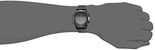 Garmin 010-01733-00 Fenix 5X Sapphire - Slate Gray with Black Band