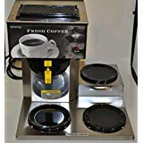 Cheap Newco 3-Station Carafe12-Cup Coffee Brewer AKH-3TC
