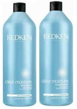 Redken Clear Moisture Shampoo and Conditioner Set 33.8oz 1 L
