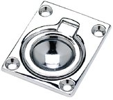 FLUSH RING PULL 1-7/8 x 2-1/2 - Seachoice Flush Ring Pull