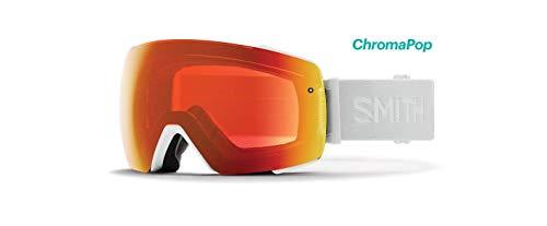 Smith Optics Io Mag Adult Snow Goggles - White Vapor/Chromapop Everyday Red Mirror