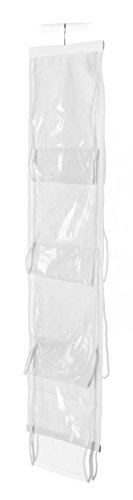 Whitmor Handbag File, Clear