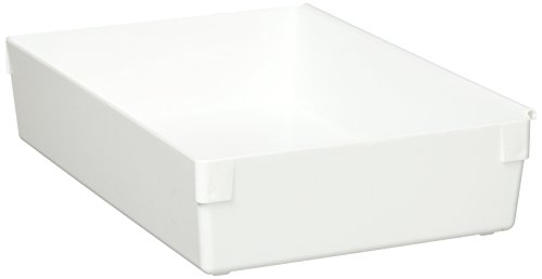 Rubbermaid Drawer Organizer, 9 by 6 by 2-Inch, White -