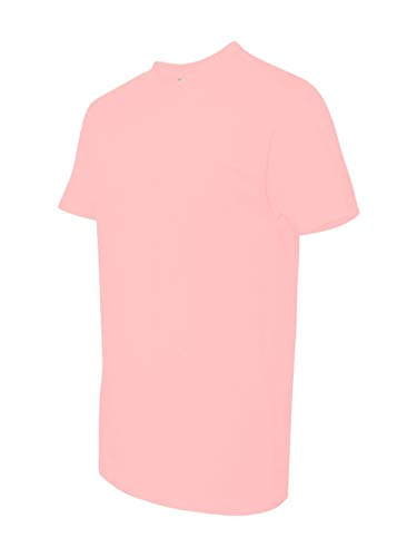 Next Level Mens Premium Fitted Short-Sleeve Crew T-Shirt - Large - Light Pink
