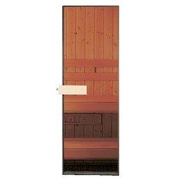 Amazon 24x78 all glass sauna door with cedar handles other 24quotx78quot all glass sauna door planetlyrics Image collections