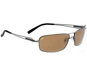 SERENGETI DANTE gafas de sol (Lentes polarizadas brillante marco de pistola)
