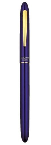 Blue Executive Pen (Kyocera Blue Thin Executive Pen, Ink Black (KC-10-BL))