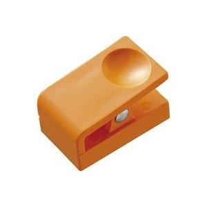 生活日用品 (業務用200セット) マグネットクリッププラタイプ橙 B511J-O B074MMMMMQ