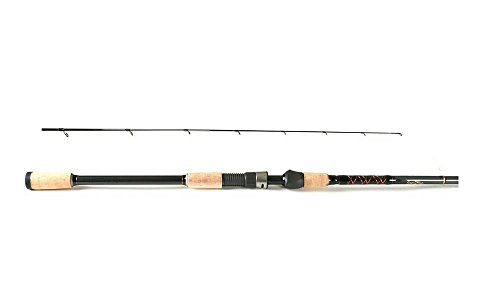 (Star Rods SK1020FT76G 7.5-Foot Seagis In-Shore Spinning Rod with 10 to 20-Pound Line Weight, Medium Heavy Action, Black Finish )