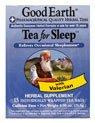 Good Earth Tea for Sleep -- 15 Tea Bags